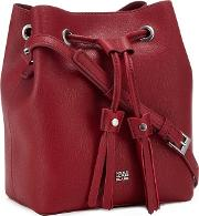 Red lisa Tassel Duffle Bag
