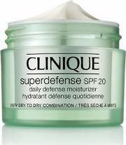 superdefense Spf 20 Moisturiser Very Dry To Combination Skin 50ml