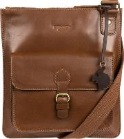 Chestnut archway Handcrafted Leather Across Body Bag
