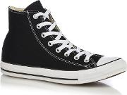 Black Canvas all Star High Tops
