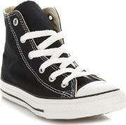 Childrens Black all Star Hi Top Trainers
