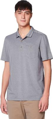 Blue Nl gilles Short Sleeved Polo Shirts