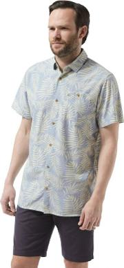 Blue Palmer Short Sleeved Shirt