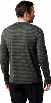 Grey 'bentley' Long Sleeved T Shirt