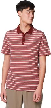 Red Nl gilles Short Sleeved Polo Shirts