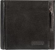Black cardinal Fine Leather Rfid Wallet
