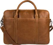 Chestnut assignment Buffalo Leather Work Bag