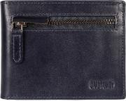 Dark Navy area Fine Cowhide Rfid Wallet