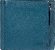 Teal wilson Bi Fold Handmade Leather Wallet