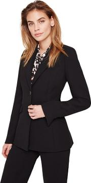 Black Isabella City Suit Jacket