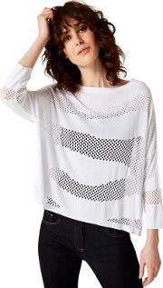 Darcey Pointelle Knitted Jumper