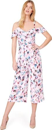 Multicoloured Indi Printed Jumpsuit