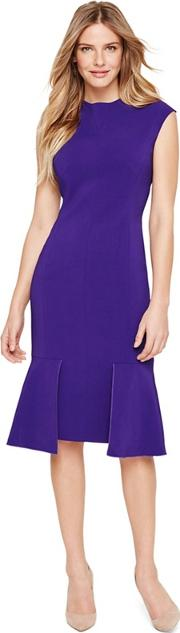 Purple Azia Fitted Dress