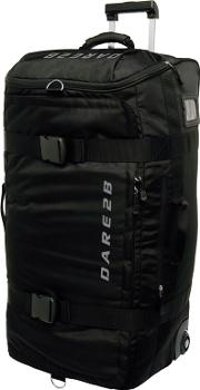 Black 120 Litre Wheeled Duffle Bag