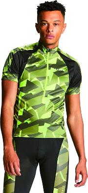 Green eminent Cycle Jersey Top