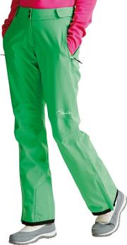 Green stand For Waterproof Ski Pants
