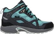 Grey Womens Cohesion Walking Boots