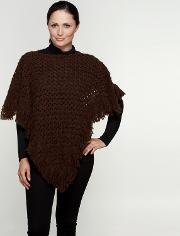 Brown Italian Poncho