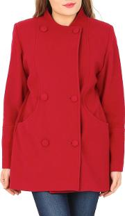 Red Cashmere & Wool Jacket