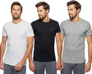 Pack Of Three Assorted Crew Neck T Shirts