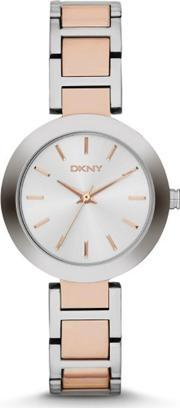 Ladies Rose Gold Watch Ny2402