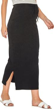 Maternity Black Maxi Skirt