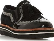Black Suede glorify Loafers