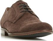 Brown pena Suede Gibson Shoes