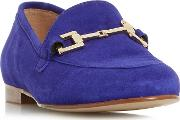 Purple guru Metal Saddle Trim Loafers Shoes