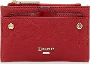 Red kimogen Mini Purse With Removable Card Holder