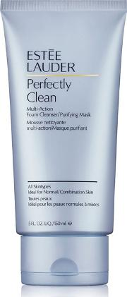 Est& 233e Lauder perfectly Clean Foam Cleanser And Purifying Mask 150ml