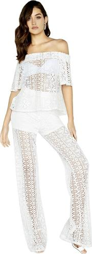 Marlin Lace Palazzo Trousers