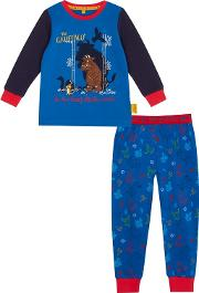 The Gruffalo Boys Blue the Gruffalo Long Sleeved Pyjama Set