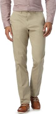 By Patrick Grant Big And Tall Beige Twill Chinos
