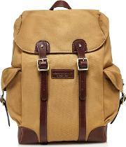 By Patrick Grant Cream Twill Backpack