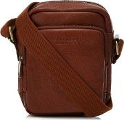 By Patrick Grant Tan Leather City Bag