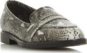 By Dune Grey gaia Loafers