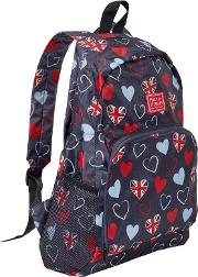 Foldaway Tri Heart Backpack