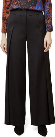 Black adilah Trousers