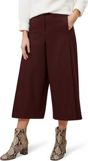 Dark Red vita Trouser