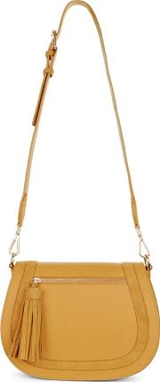 Dark Yellow faye Crossbody Bag