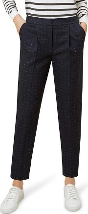 Navy aleena Trousers