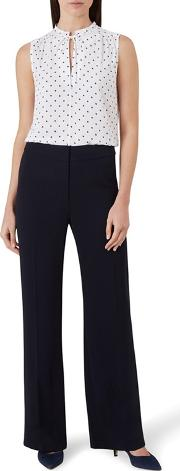 Navy cait Trouser