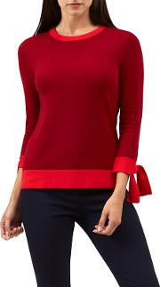 Red kirby Sweater