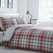 Red Checked somerset Bedding Set