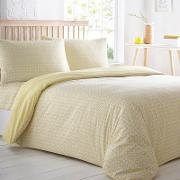 Yellow Printed Pack Of Two Bedding Sets