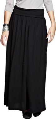Black Maxi Skirt With Coolfresh
