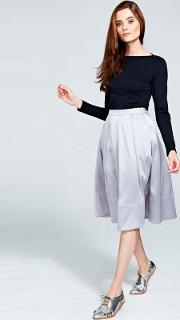 Silver Skirt With Clevertech