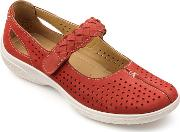 Terracotta Suede quake Mary Janes