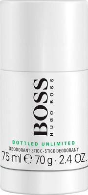 boss Bottled Unlimited Deodorant Stick 75g